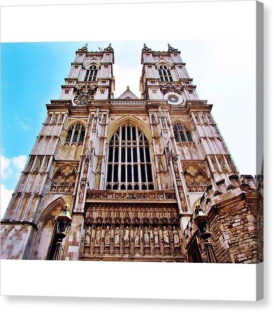 Westminster Abbey Canvas Print - Westminster Abbey by Julie Olesky