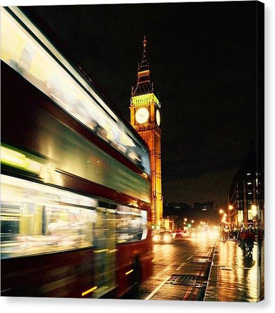 Parliament Canvas Print - #westminster #bridge #bigben #big #ben by Frankie Melvin