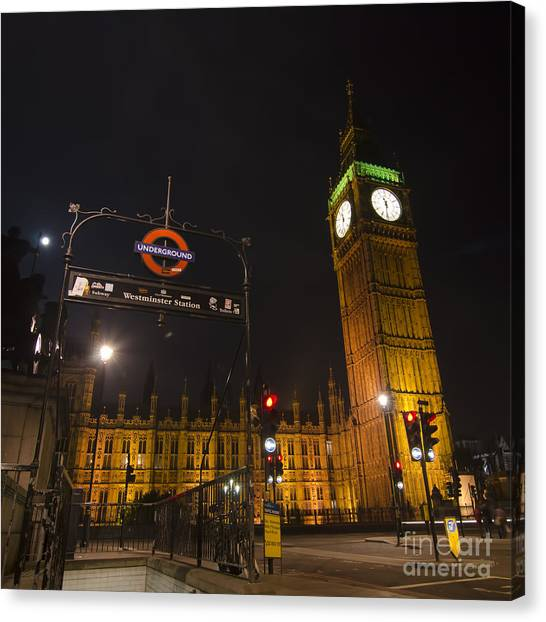 Stamford Bridge Canvas Print - Westminster London by Steev Stamford