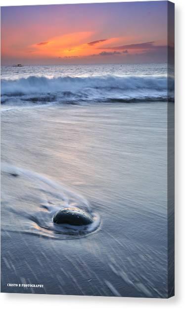 Wet Canvas Print by Cristo Bolanos