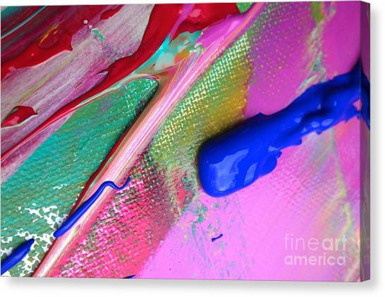 Wet Paint 31 Canvas Print