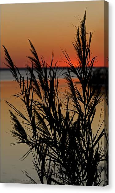 Whalehead Sunset Obx II Canvas Print