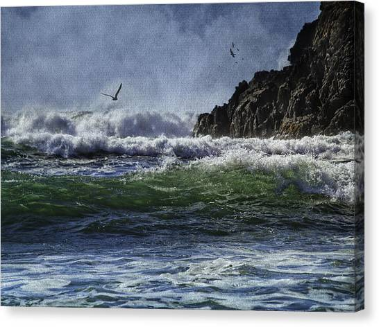 Whales Head Beach Southern Oregon Coast Canvas Print