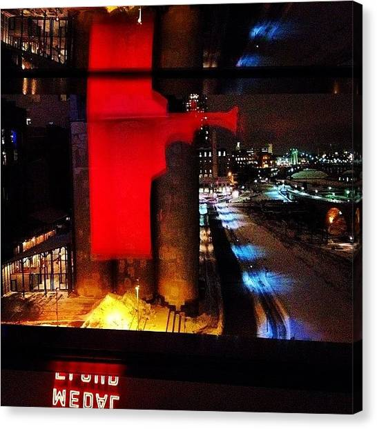 Holidays Canvas Print - A View From The Guthrie by Heidi Hermes