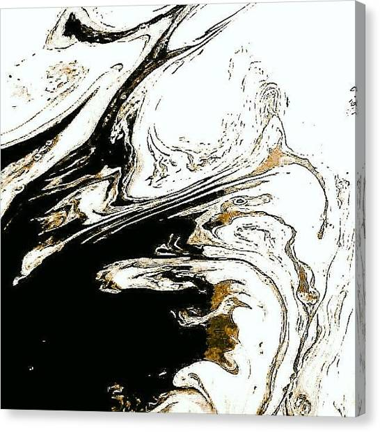 Liquids Canvas Print - What Do You See by Elizabeth N Gregory