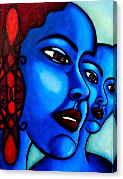 What Is An Individual? Canvas Print by India Samara