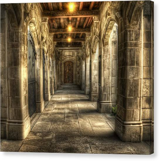 Church Canvas Print - What Lies Beyond by Scott Norris