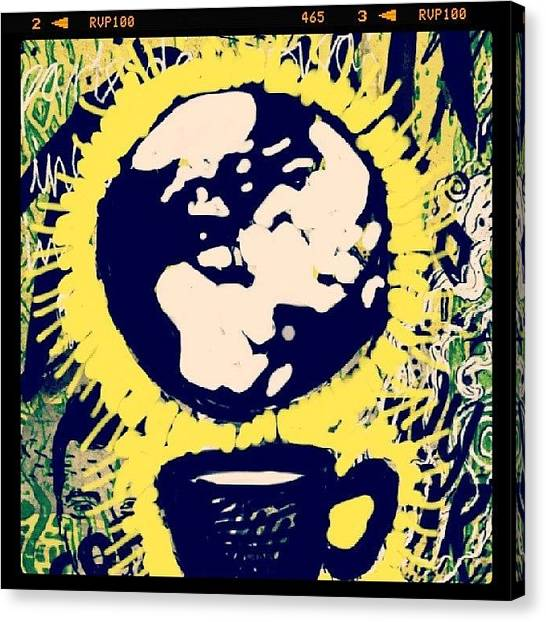 World Cup Canvas Print - What World Cup Can Be Literally Means by Ridza MH