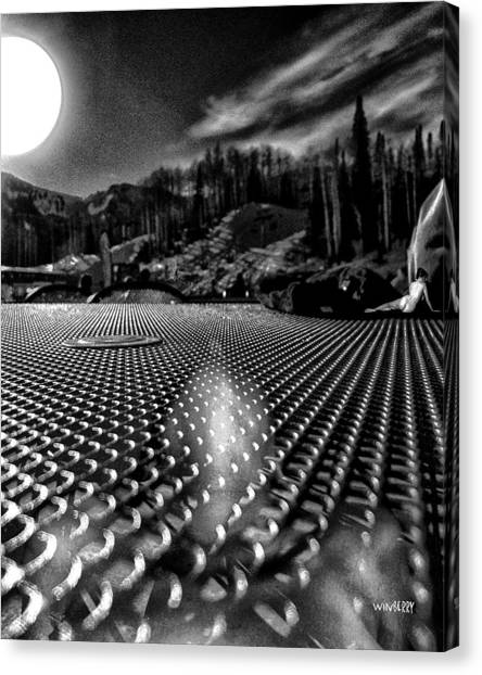 What You Do In Park City When You Do Not Ski Canvas Print