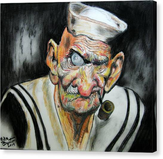 Whatever Happend To Popeye? Canvas Print