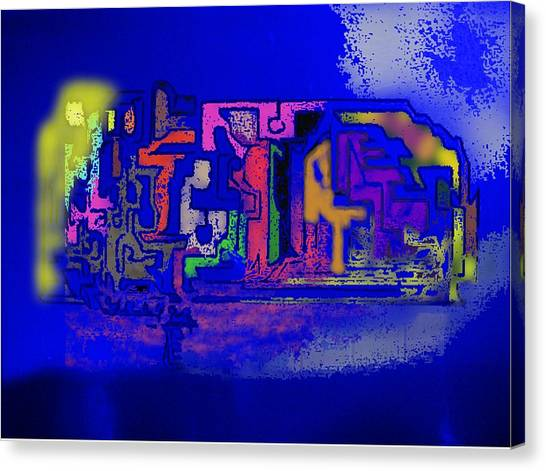 Whats Up Joe Canvas Print by Gregory Steward