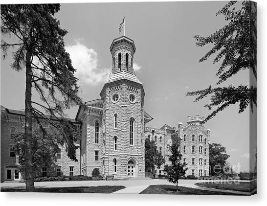 Wheaton College Blanchard Hall Canvas Print