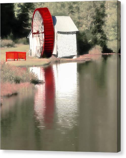 Wheel House Canvas Print
