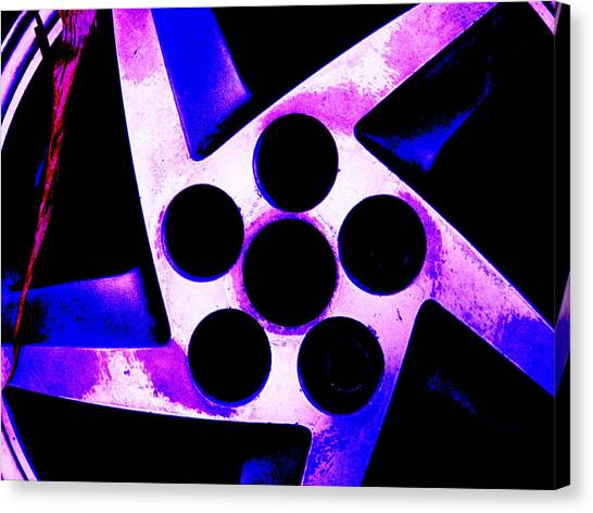 Wheel Of Color Canvas Print