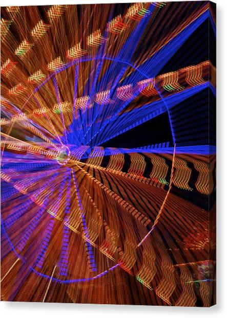 Wheel Of Light Canvas Print