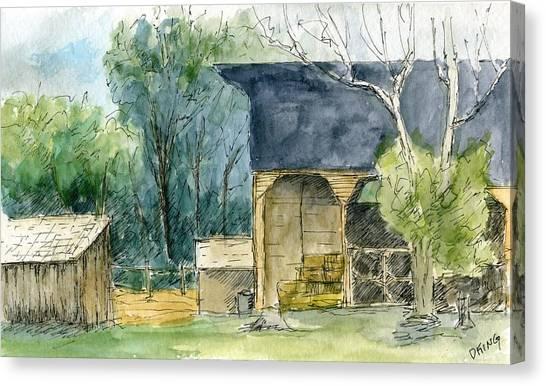 Wheeler Farm Canvas Print