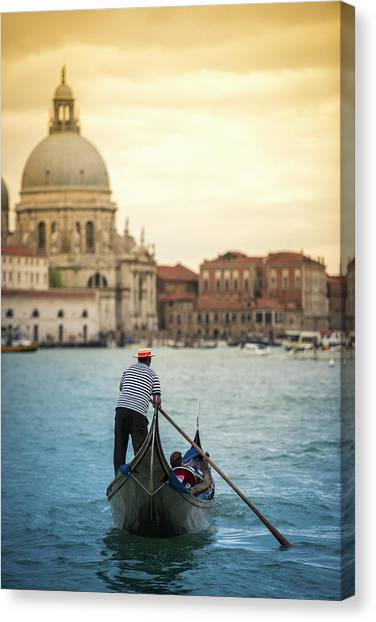 When In Venice... | Venezia Explore Canvas Print
