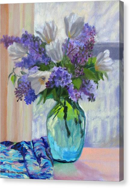 When Lilacs Bloomed Canvas Print