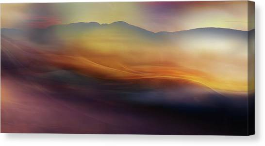 Creation Canvas Print - When The Morning Wakes Ll by Heidi Westum