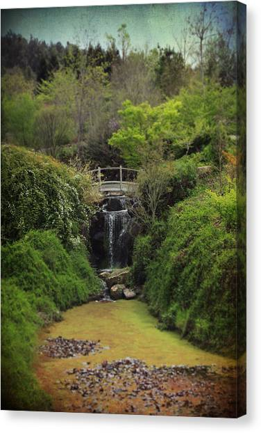Glen Canvas Print - When Too Many Tears Have Fallen by Laurie Search