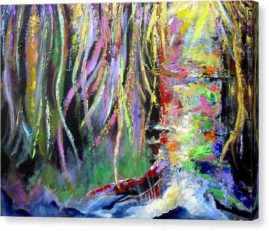 When Trees Dream Canvas Print