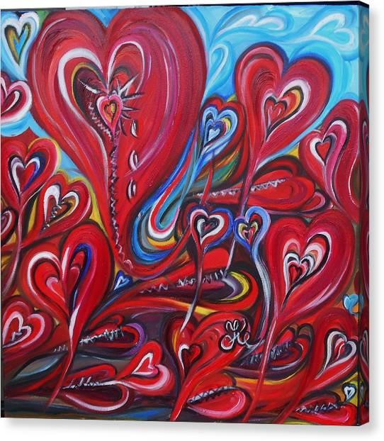 Where Broken Hearts Go Canvas Print