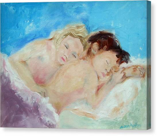 Where Dreams Take Us Canvas Print by Susan Hanlon