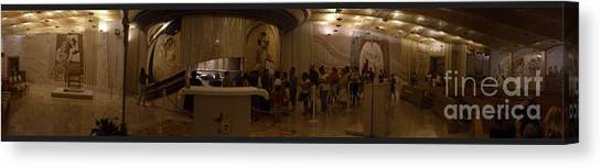 Where San Pio Rests Canvas Print