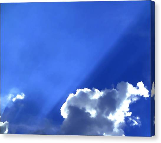 Where The Angels Live Canvas Print