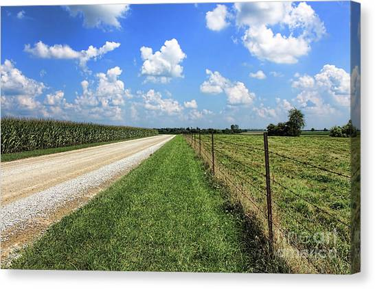 Where The Road May Take You Canvas Print
