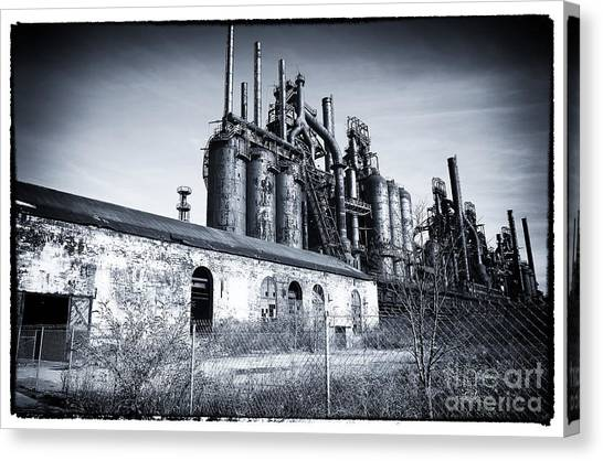 Where They Worked Canvas Print by John Rizzuto