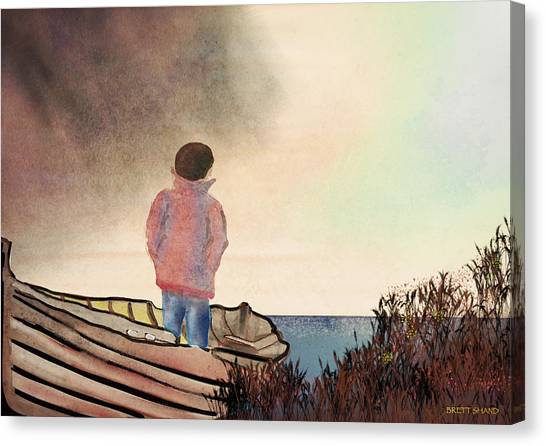 Which Way Home Canvas Print