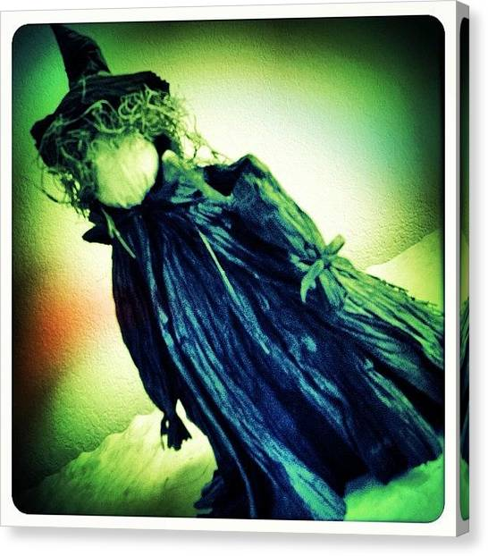 Witches Canvas Print - Which Witch  by Judi FitzPatrick
