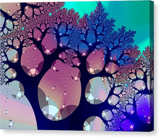 Whimsical Forest Canvas Print
