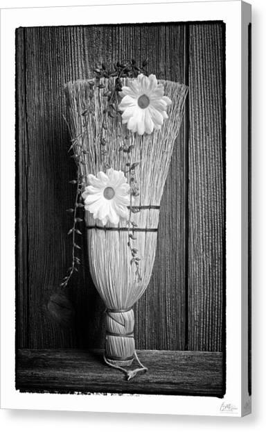 Grunge Canvas Print - Whisk Bloom - Art Unexpected by Tom Mc Nemar