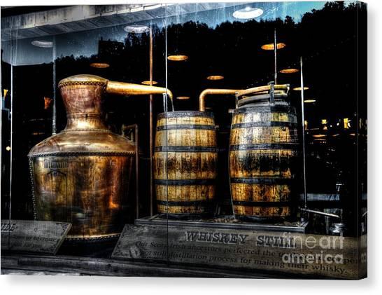 Whiskey Still On Main Street Canvas Print