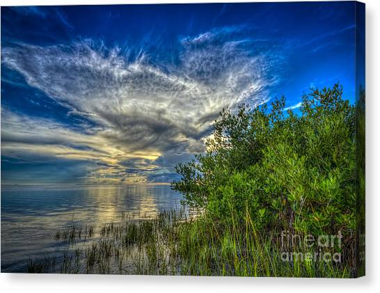 Thunder Bay Canvas Print - Whisper Wind by Marvin Spates