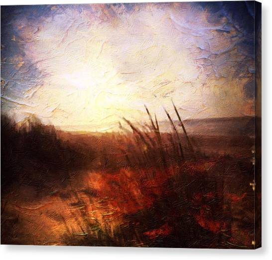 Whispering Shores By M.a Canvas Print