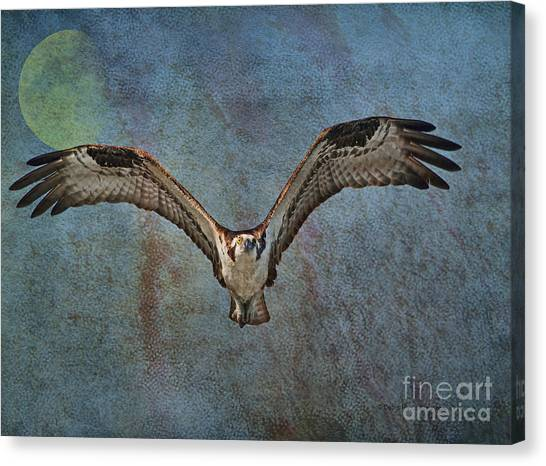 Whispering To The Moon Canvas Print
