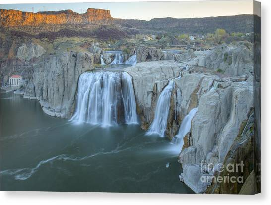 Whispers Of Shoshone Canvas Print