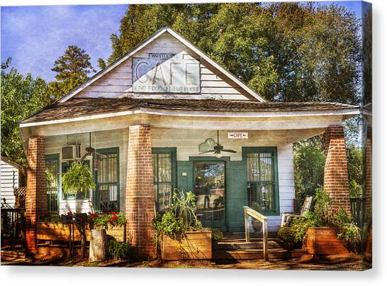Whistle Stop Cafe Canvas Print