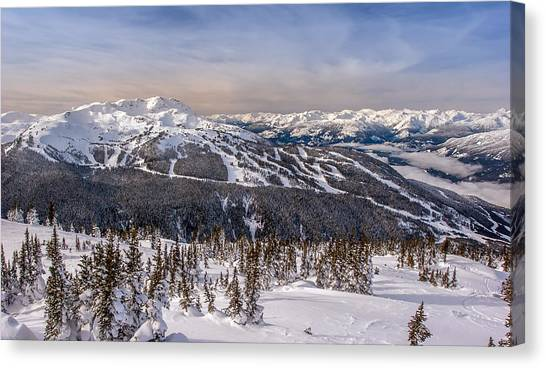 Whistler Mountain Winter Canvas Print