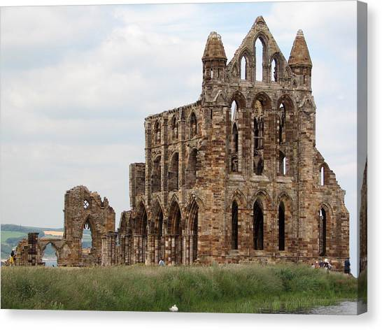 Whitby Abbey Canvas Print