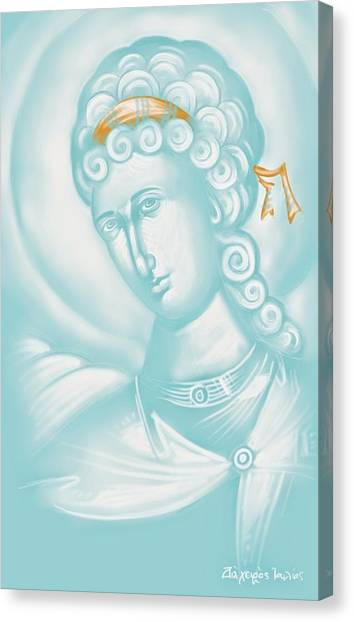 Canvas Print - White Angel by Julia Bridget Hayes