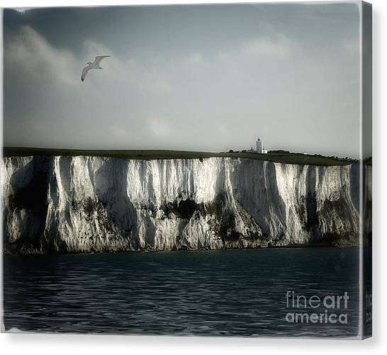 White Cliffs Of Dover Canvas Print