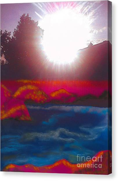 White Dwarf Canvas Print