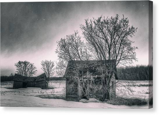 White Farms Canvas Print by Stuart Deacon