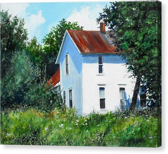 White House Canvas Print by William  Brody