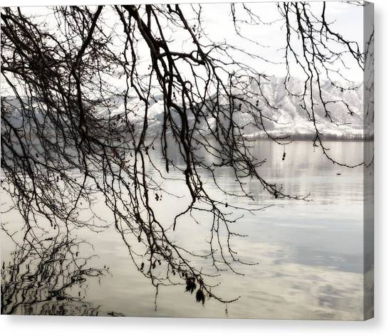 White Lake Canvas Print