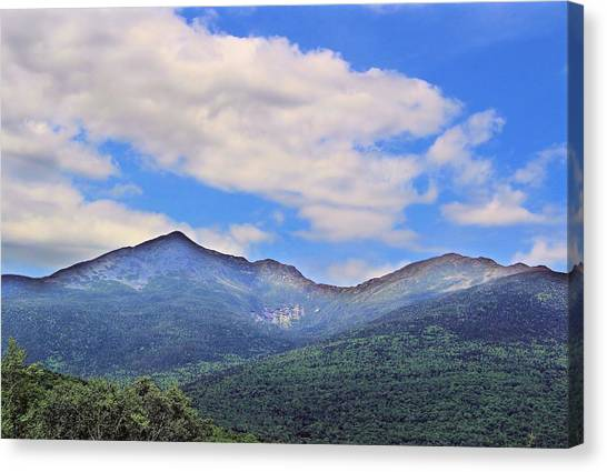 White Mountains Canvas Print by Andrea Galiffi